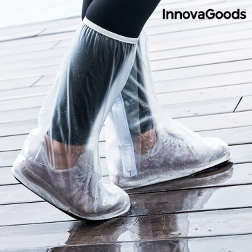 InnovaGoods waterdichte schoenenhoezen lopend