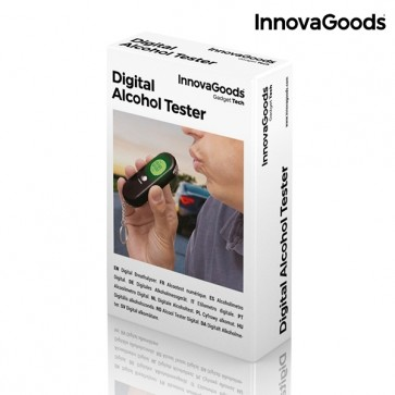 InnovaGoods Digitale Alcohol Tester