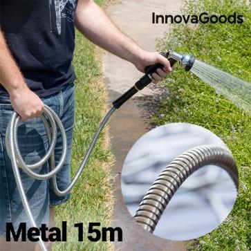 InnovaGoods Metalen Tuinslang