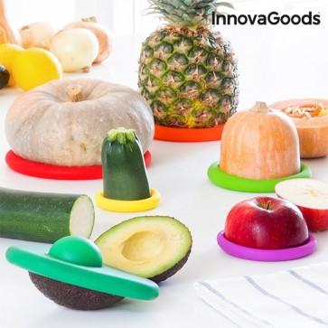 InnovaGoods Siliconen Houdbaarheidsdeksels voor Voedsel