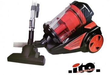 Ito Electronics, Syclone zakloze Stofzuiger rood
