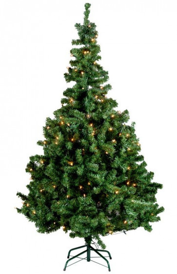 Kerstboom met gratis LED-lamp
