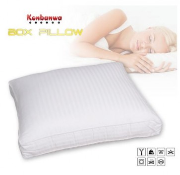 Konbanwa box pillow