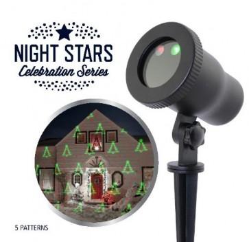 Laser Light Night Stars 5 Patronen