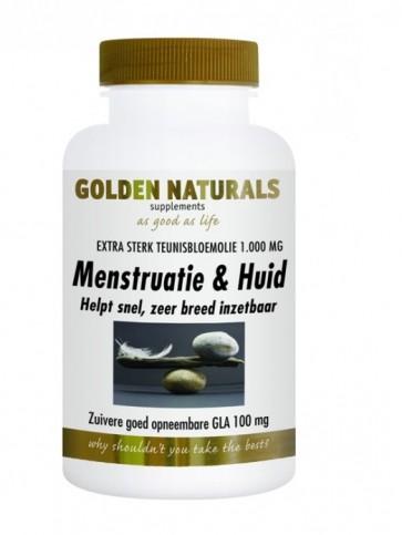 Golden Naturals Menstruatie & Huid