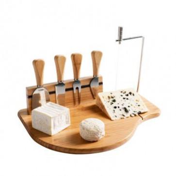 Kitchen Artist kaasplankje met messenset