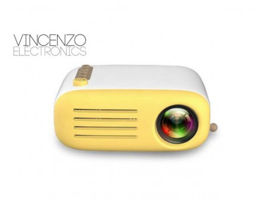 VinCenzo Electronics YG200 - Mini Led Projector