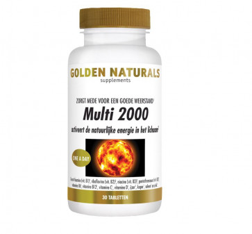 Golden Naturals Multi 2000. 30 tabletten