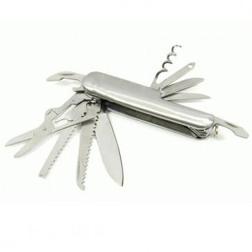 Altijd handige tools mee met dit 15 in 1 multifunctioneel mes