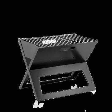 Opvouwbare draagbare barbecue voor gebruik met houtskool FoldyQ InnovaGoods
