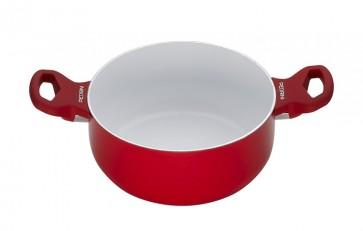 Pedrini Braadpan - Rood - 20 cm