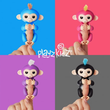 Playz Kidz Cheeky Monkey Interactieve Aap Blauw