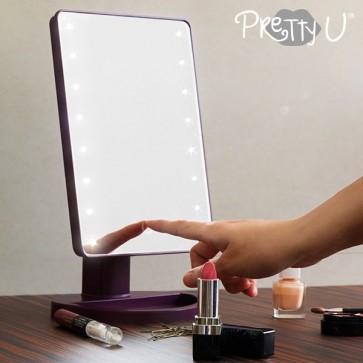 Pretty u Tabletop LED_ mirror