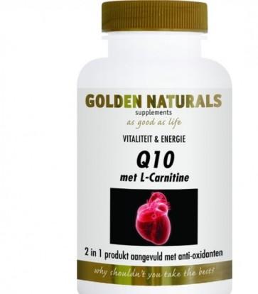 Golden Naturals Q10 Meidoorn / Carnitine