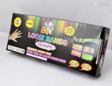 Loom Bands Colorful - 600 Bandjes
