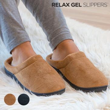 Relax Gel Slippers Zwart M