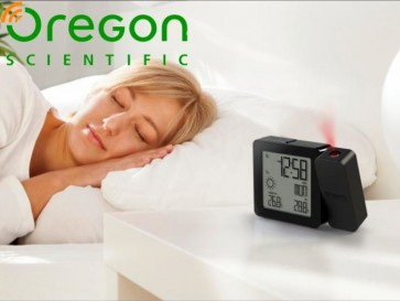 Oregon Scientific Smart Living Projectie Alarmklok RM338