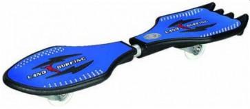 Skateboard, Waveboard, Rocking Skateboard, Blauw, Blauwe skateboard,