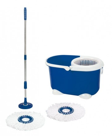 Spin Mop Silver,
