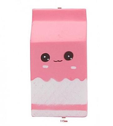 Squishy Toy Milk Carton Roze