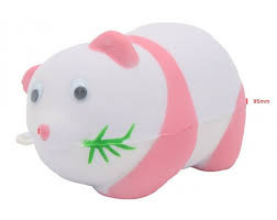 Squishy Toy Cute Lady Panda Roze
