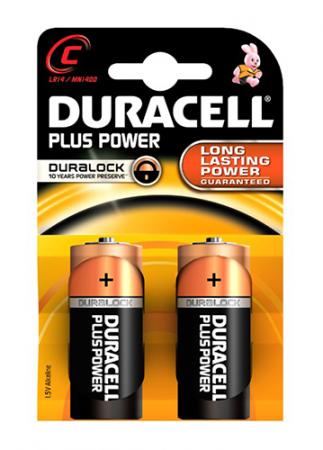 Duracell Plus Power Duralock 1,5v C LR14/ MN1400