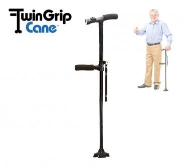 Twin Grip Cane Wandelstok