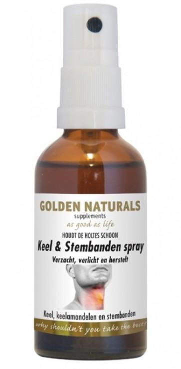 Golden Naturals Keel & Stembandenspray