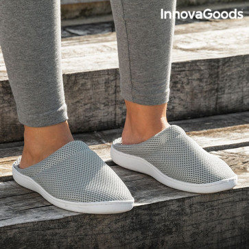 InnovaGoods Comfort Bamboo Gelslippers