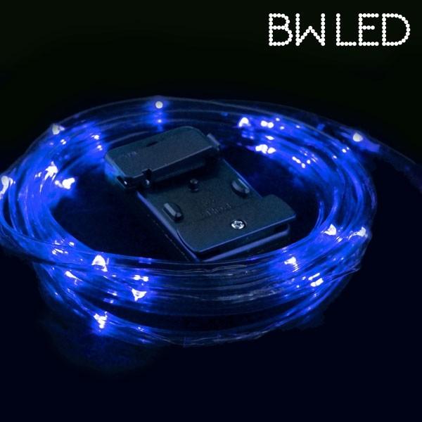 ledverlichting fiets blauw