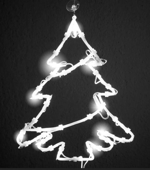 Kerst raamverlichting Kerstboom nu verkrijgbaar bij Bekendvanpc.nl