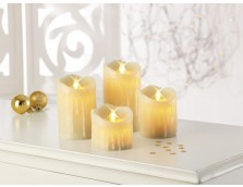 Cozy candles van TV