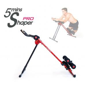5 Minute Shaper Pro - Fitnessapparaat Zwart / Rood