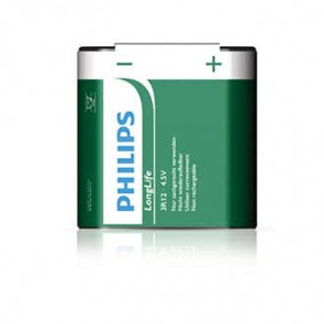 Philips Longlife Zinc Carbon 4,5v 3R12