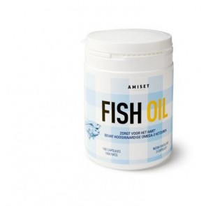 Amiset Fish Oil, vis olie,