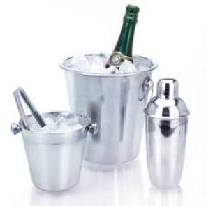 Roestvrij stalen IJsemmers en Cocktailshaker set