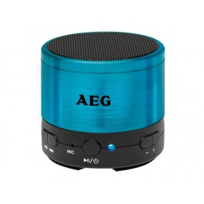AEG BSS 4826 Bluetooth Geluidssysteem Blauw