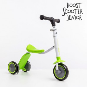 Boost Scooter, Junior 2 in 1 Scooter Driewieler