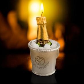 Champagne kaars Congratulation