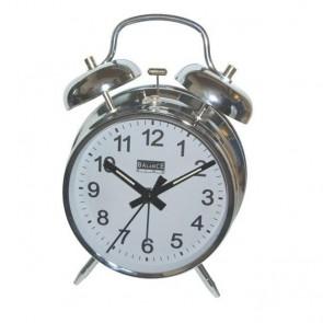 Goed wakker worden met deze chroom alaloog bellenwekker Balance Time