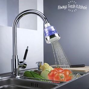 Water, energie en wasmiddel besparen met de Clean water tap filter eco keukenkraan