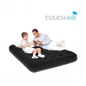 Dankzij de Couch air luchtmatras heeft u gemakkelijk en snel een extra bed