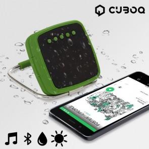 Cuboq _Portable solar power bluetooth speaker