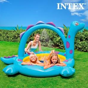 Dinosaurus zwembad, intex, zwemmen, zwembad met douche