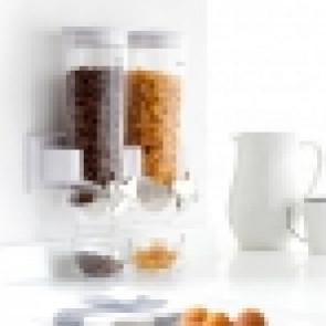 Dubbele cereal wanddispenser