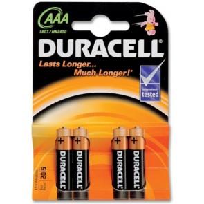 Duracell AAA 4 stuks LR03/ MN2400