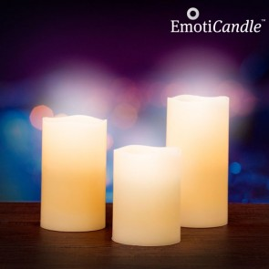 Emoti Candle, Blow Sensor, LED Kaarsen