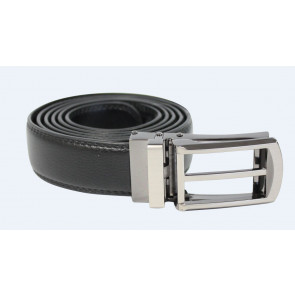 Exact belt leather Zwart
