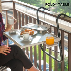 Foldy Table B Opvouwbare Balkontafel