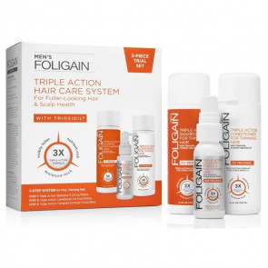 Foligain Men's Triple Action Hair Care System
